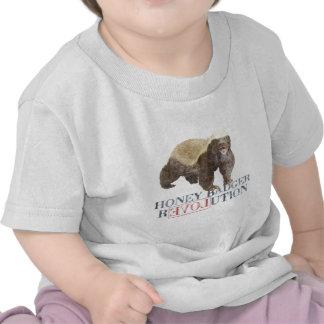 Honey Badger Revolution T-shirts