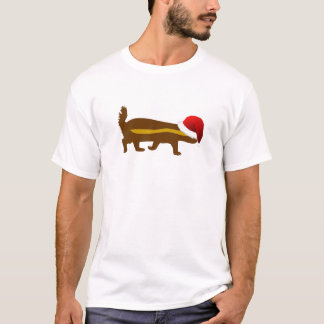 Honey Badger Santa T-Shirt