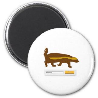 Honey Badger Search - Bad MF Refrigerator Magnet
