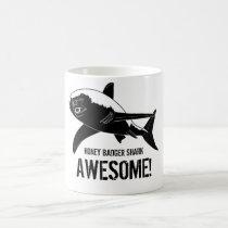 Honey Badger Shark Awesome! Coffee Mug
