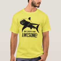 Honey Badger Shark Awesome! T-Shirt