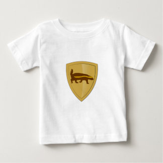 Honey Badger Shield & Crest Baby T-Shirt
