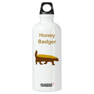 honey badger SIGG traveler 0.6L water bottle