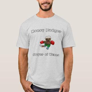 Honey Badger - Slayer of Memes T T-Shirt