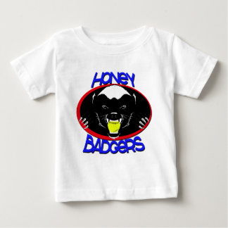 Honey Badger Softball Baby T-Shirt