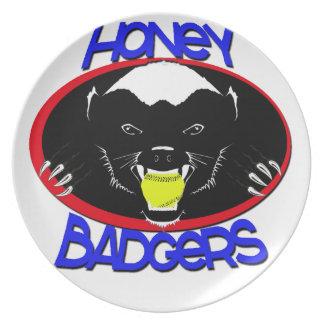 Honey Badger Softball Plate