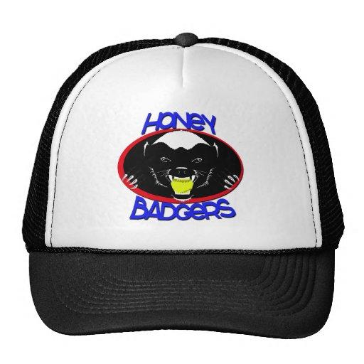 Honey Badger Softball Trucker Hat