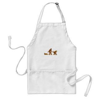 honey badger squatch squatchy badger apron