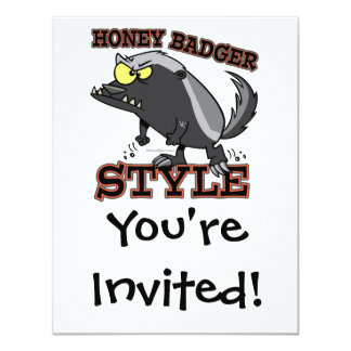 HONEY BADGER STYLE CARD