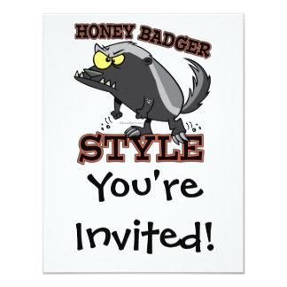 HONEY BADGER STYLE CARD