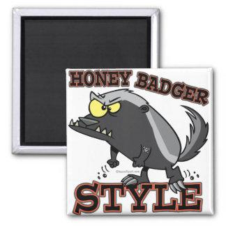 HONEY BADGER STYLE MAGNETS