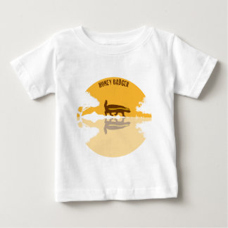honey badger sunset baby T-Shirt