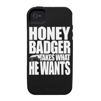 Honey Badger Takes What He Wants Case For The iPhone 4