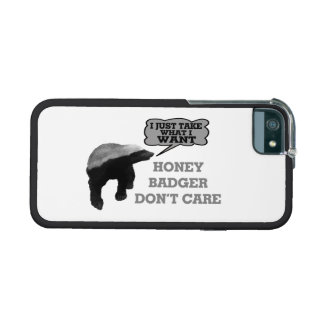 Honey Badger Takes What It Wants Cover For iPhone 5/5S