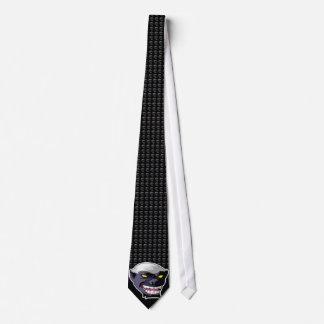 Honey Badger Tie Full Image, Tiled Background