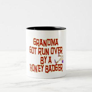Honey Badger Two-Tone Coffee Mug