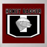 Honey Badger University Poster (Large)