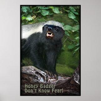 Honey Badger V2 Poster