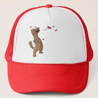 Honey Badger Valentine's Day Heart Breaker Trucker Hat