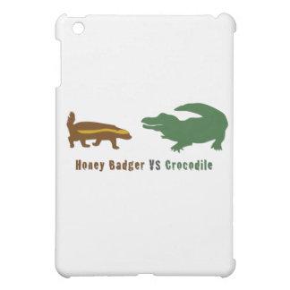 Honey Badger VS Crocodile Cover For The iPad Mini