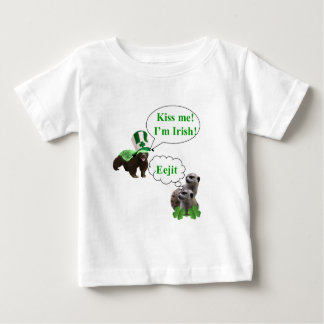 Honey badger v's meerkats baby T-Shirt
