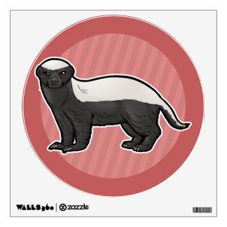 Honey Badger Wall Sticker