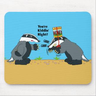 Honey Badger Wannabe Mouse Pad