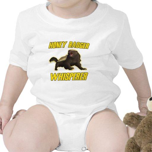 Honey Badger Whisperer Baby Bodysuits
