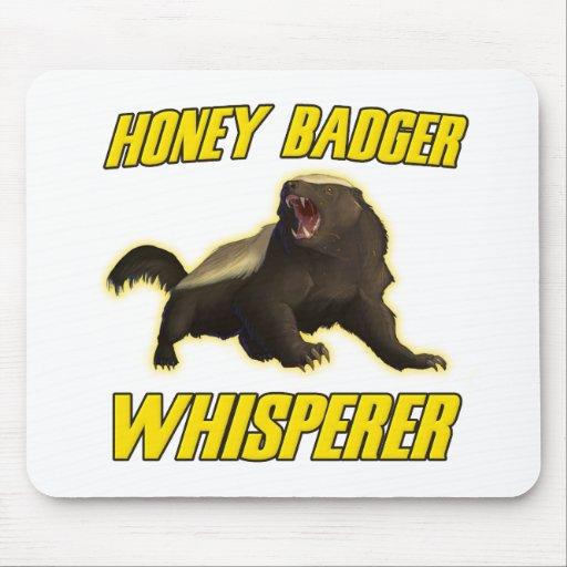 Honey Badger Whisperer Mouse Pad