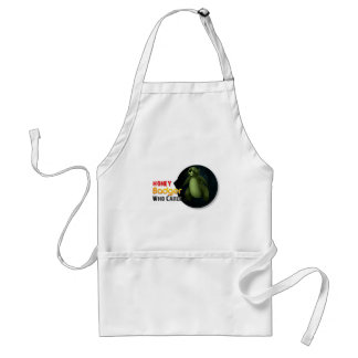 Honey Badger Who cares? Adult Apron