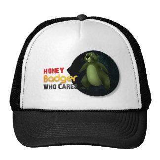 Honey Badger Who cares? Trucker Hat
