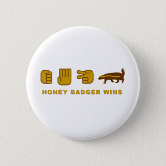 honey badger wins button