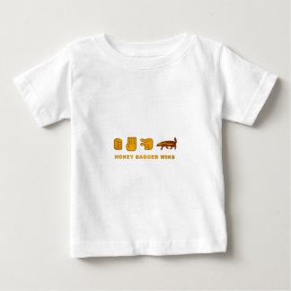 Honey Badger Wins - (Vintage) Rock Paper Scissor Baby T-Shirt