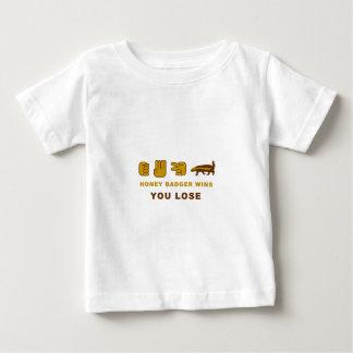 Honey Badger Wins - You Lose Baby T-Shirt