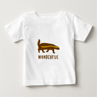 Honey Badger Wonderful Baby T-Shirt