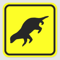 Honey Badger XING Sticker