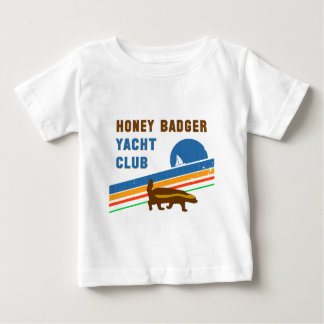 honey badger yacht club baby T-Shirt