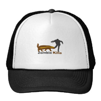 Honey Badger Zombie Killa Trucker Hat