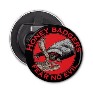 Honey Badgers 'fear no evil' Bottle Opener