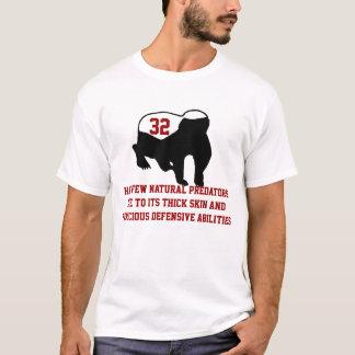 Honey Badger's Ferocious Defensive Abilities Red T-Shirt