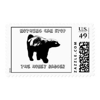 Honey Badgers! Postage
