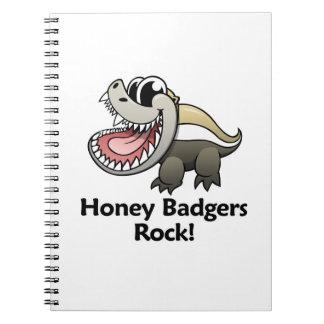 Honey Badgers Rock! Notebook