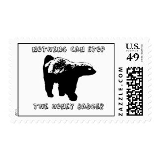 Honey Badgers! Stamp