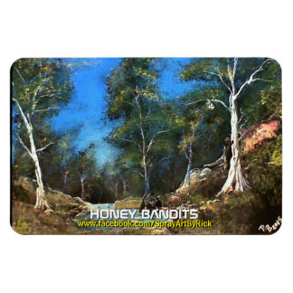 Honey Bandits Rectangular Photo Magnet