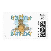 Honey Bear 1st Birthday Tshirts and Gifts Postage