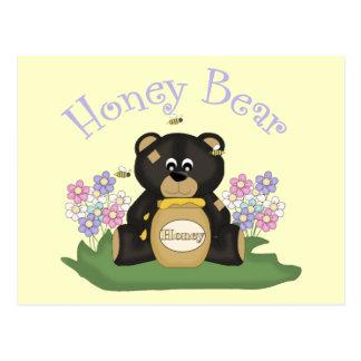 Honey Bear 2 Postcard