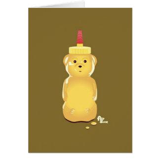 Honey Bear Birthday Card