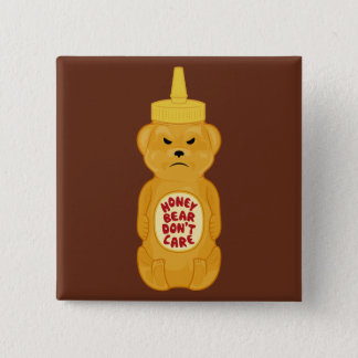 Honey Bear Button