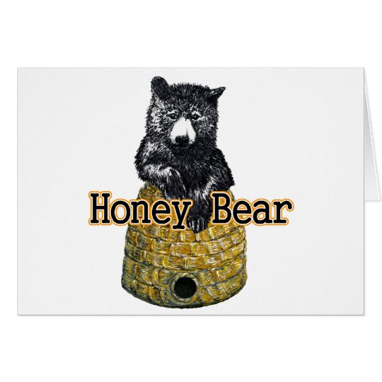honey bear card