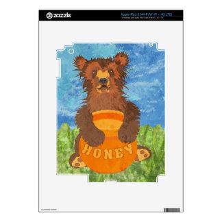 Honey Bear Decals For iPad 3